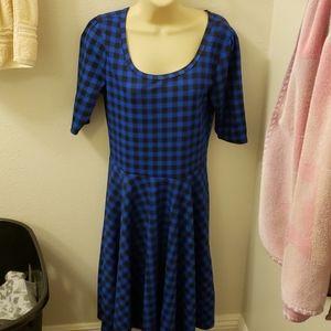 New Lularoe blue dress